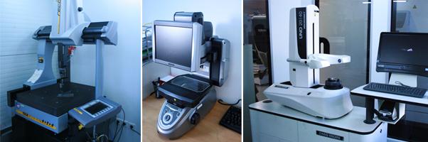 3D, 2D und Werkzeugsvermessungsmaschine aus unserem Messlabor
